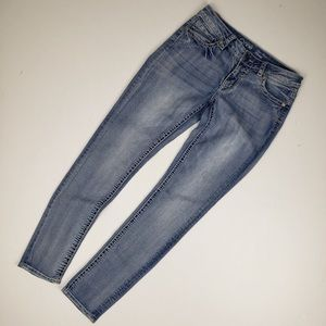 Warehouse One Mid Rise Skinny Jeans Size 29